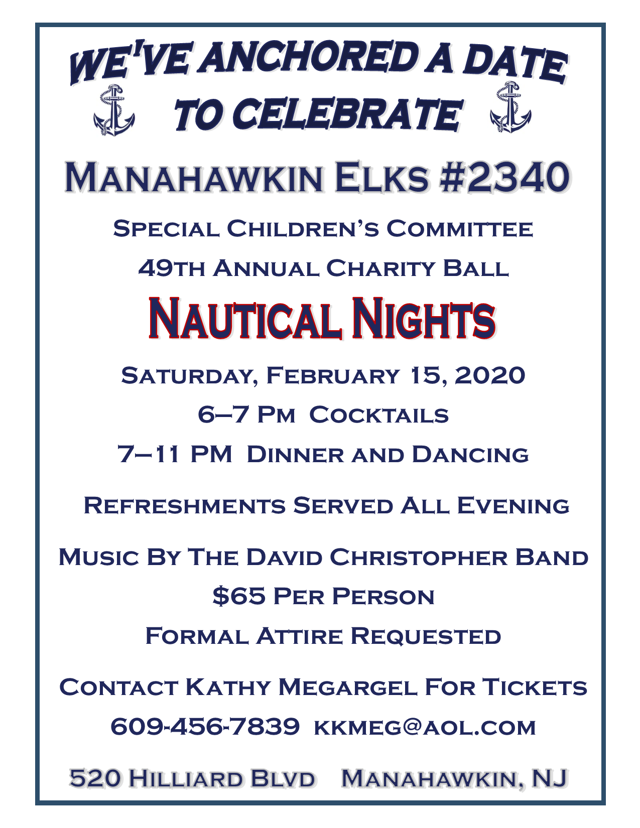 2020 Nautical Nights Charity Ball